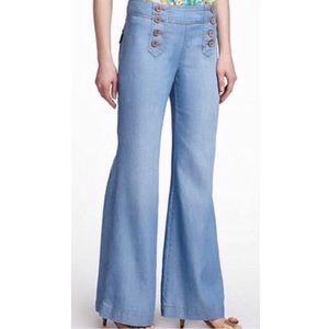 Anthropologie | Elevenses Sailor Jeans - Blue